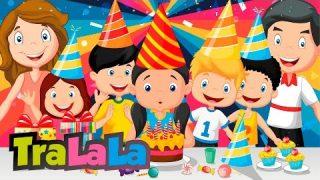 La mulți ani! – Cântece pentru copii | TraLaLa