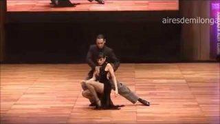 World tango championship dancers